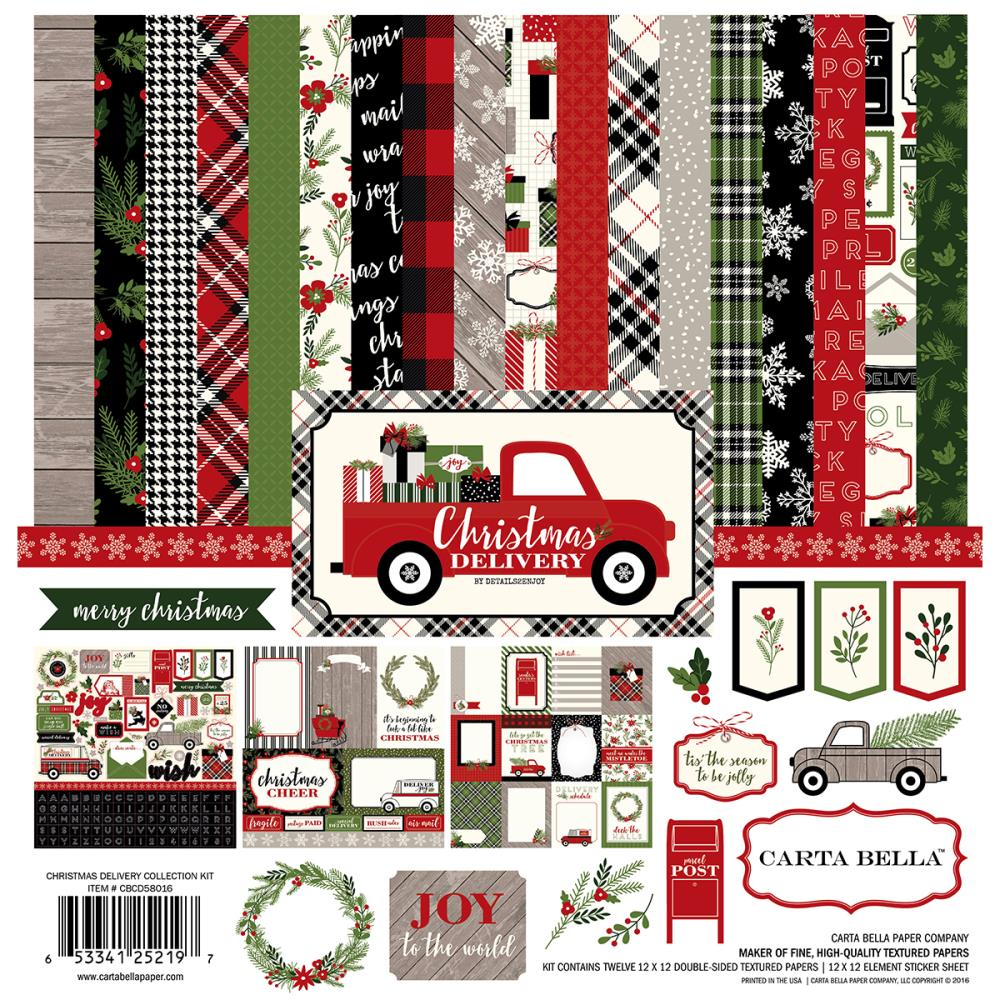 Carta Bella - Christmas Delivery Collection