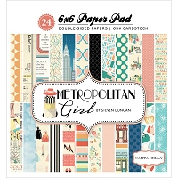 Carta Bella - Metropolitan Girl Collection - 6x6 Paper Pad