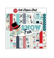 Carta Bella - Snow Fun Collection - 6x6 Paper Pad