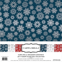 Carta Bella - Foil Collection - Let It Snow Silver Foil Collection Pack