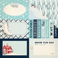 Carta Bella - Snow Fun Collection - 12