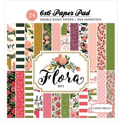 Carta Bella - Flora 1 Collection - 6x6 Paper Pad