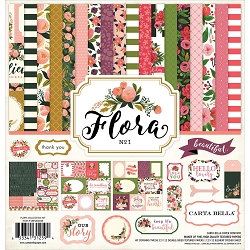 Carta Bella - Flora 1 Collection - Collection Kit