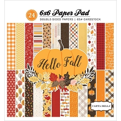 Carta Bella - Hello Fall Collection - 6x6 Paper Pad