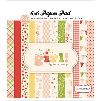 Carta Bella - It's a Girl Collection - 6x6 Paper Pad