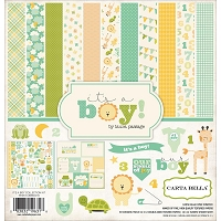 Carta Bella - It's a Boy Collection - Collection Kit