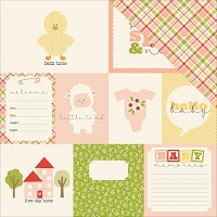 Carta Bella - It's a Girl Collection - 12