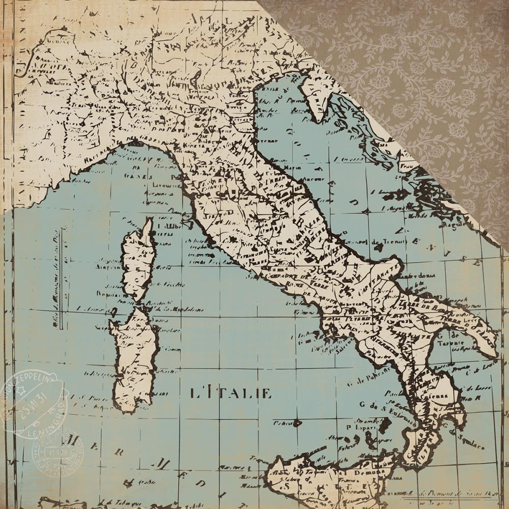 Carta bella old world travel collection 12x12 cardstock old carta bella old world travel collection 12x12 cardstock old world map gumiabroncs Choice Image