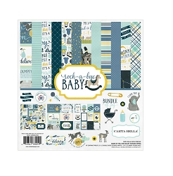 Carta Bella - Rock-a-Bye Baby Boy Collection - 6x6 Paper Pad
