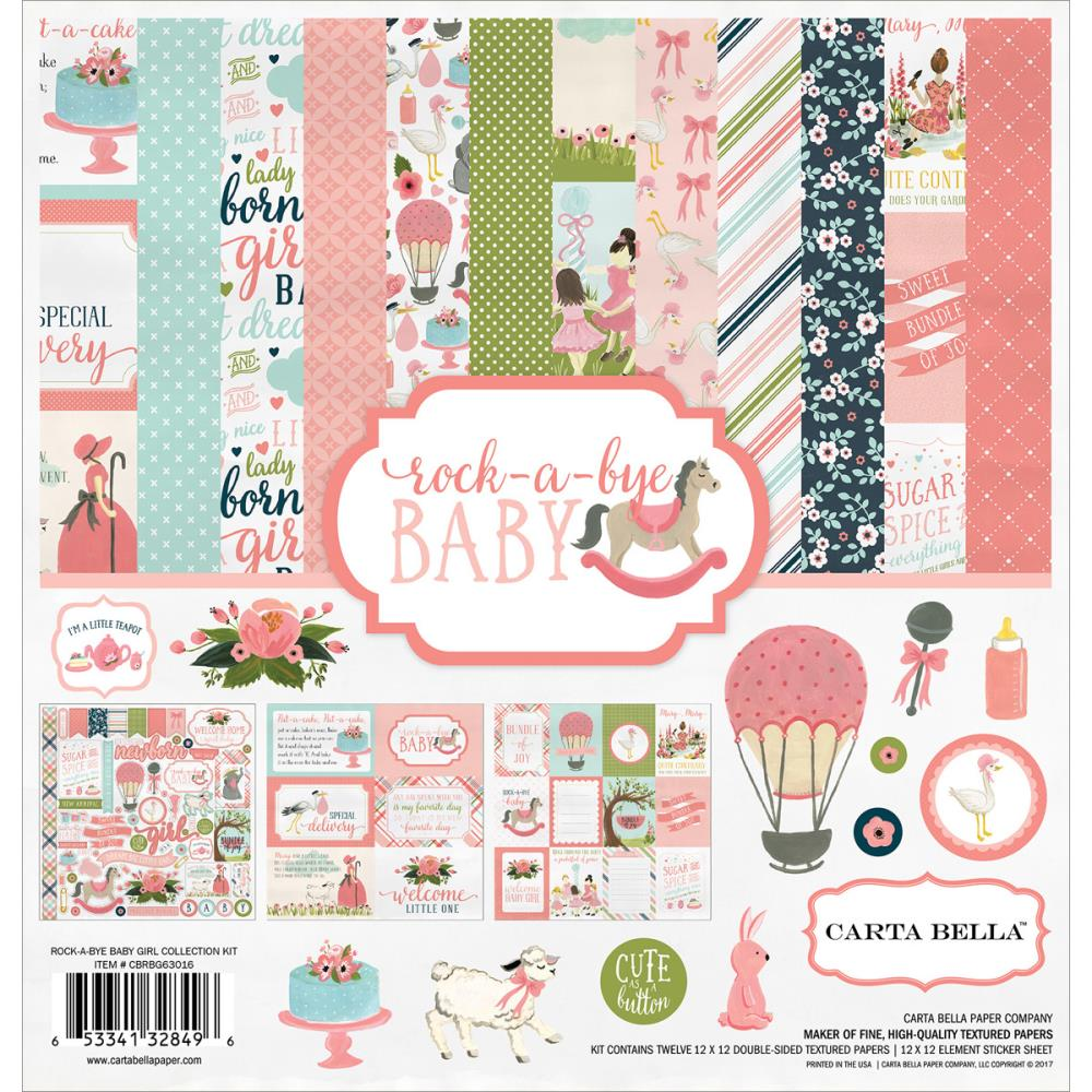 Carta Bella - Rock-a-Bye Baby Girl Collection