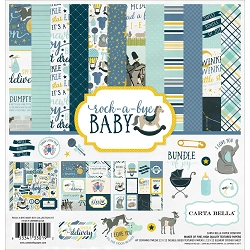 Carta Bella - Rock-a-Bye Baby Boy Collection - Collection Kit