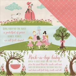 Carta Bella - Rock-a-Bye Baby Girl Collection - 12