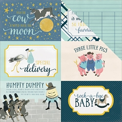 Carta Bella - Rock-a-Bye Baby Boy Collection - 12