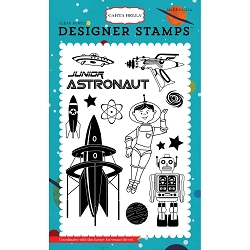 Carta Bella - Space Academy Collection - Space Academy Junior Astronaut Clear Stamp