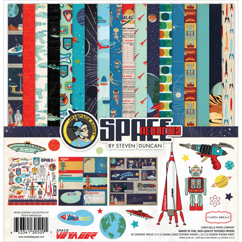Carta Bella - Space Academy Collection