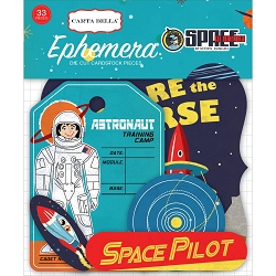 Carta Bella - Space Academy Collection - Die Cut Ephemera