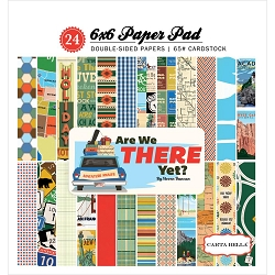 Carta Bella - Are We There Yet? Collection - 6x6 Paper Pad