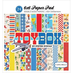 Carta Bella - Toy Box Collection - 6x6 Paper Pad