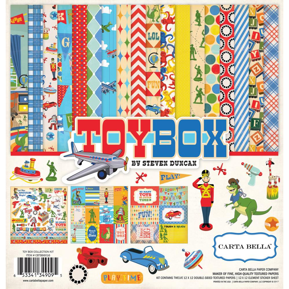 Carta Bella - Toy Box Collection
