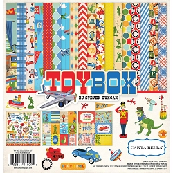 Carta Bella - Toy Box Collection - Collection Kit