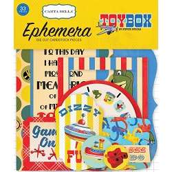 Carta Bella - Toy Box Collection - Die Cut Ephemera