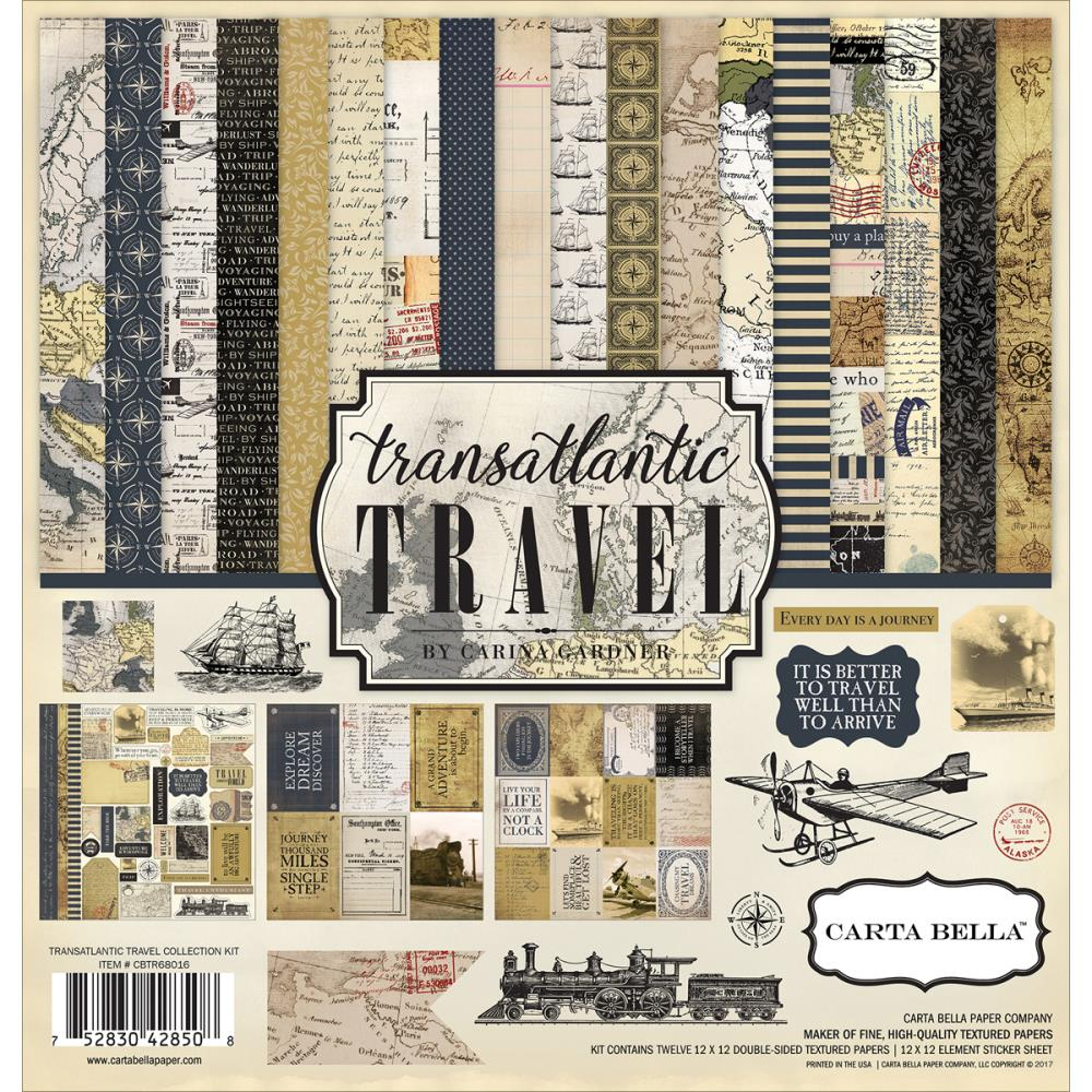 Carta Bella - Transatlantic Travel Collection