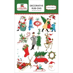 Carta Bella - A Very Merry Christmas Collection - Rub-Ons