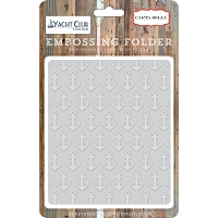 Carta Bella - Yacht Club Collection - Anchor Embossing Folder