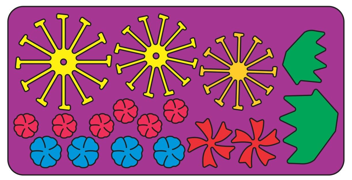 Cheery Lynn Build A Flower  Embellishments