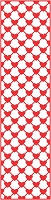 Cheery Lynn Designs - DIE - Mesh Hearts (Vertical) Borders