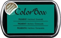 Colorbox Pigment Ink Pad - Emerald