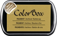 Colorbox Pigment Ink Pad - Buttercup