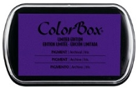 Colorbox Pigment Ink Pad - Limited Edition - Iris