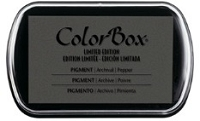 Colorbox Pigment Ink Pad - Limited Edition - Pepper