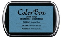 Colorbox Pigment Ink Pad - Limited Edition - Pool
