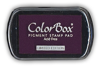 Colorbox Limited Edition Pigment Ink Pad - Raisin