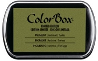 Colorbox Pigment Ink Pad - Limited Edition - Turtle