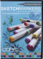 Copic Instruction DVD - Sketch Markers
