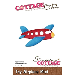 Cottage Cutz - Die - Toy Airplane Mini