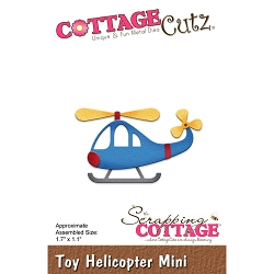 Cottage Cutz - Die - Toy Helicopter Mini