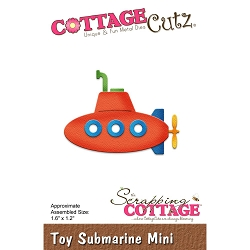 Cottage Cutz - Die - Toy Submarine Mini