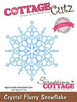 Cottage Cutz - Dies - Crystal Flurry Snowflake