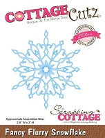 Cottage Cutz - Dies - Fancy Flurry Snowflake