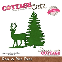 Cottage Cutz - 24 Christmas themed dies