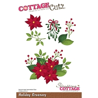 Cottage Cutz - Die - Holiday Greenery