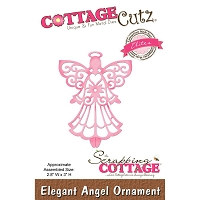 Cottage Cutz - Die - Elegant Angel Ornament