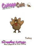 Cottage Cutz-Mini Dies-Mini Turkey