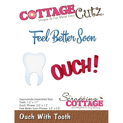 Cottage Cutz - Die - Ouch With Tooth
