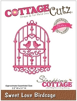 Cottage Cutz - Dies - Sweet Love Birdcage