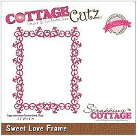 Cottage Cutz - Dies - Sweet Love Frame
